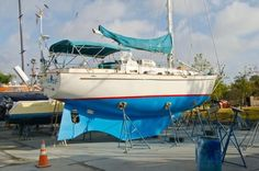 1998 Ted Brewer 40 Custom sailboat for sale. Sailboats For Sale, Boat Building, Ted, Sailing, Yachts, Exercises, Candle, Exercise Routines, Excercise
