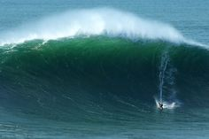 Big, bigger, biggest Photo by Miguel Costa -- National Geographic Your Shot. Garrett McNamara (Hawaii), catches the biggest wave of the winter in Portugal, at a spot know for big wave surfing.