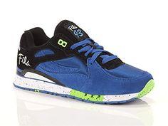 Fila , Herren Sneaker BLACK PRINCE BLUE GREEN, - BLACK PRINCE BLUE GREEN - Größe: 42 - http://on-line-kaufen.de/fila/42-eu-fila-herren-sneaker-black-prince-blue-green