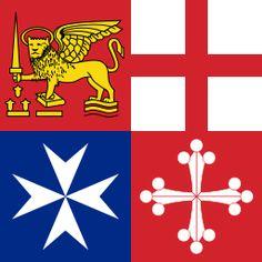 Naval Jack of Italy - Itália – Wikipédia, a enciclopédia livre