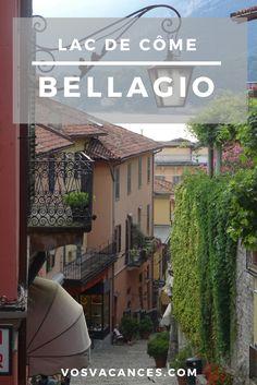 Benvenuti a Bellagio, la perle du lac de Côme. Ce petit #village romantique avec ses petites ruelles séduit. Vous ne serez pas déçus entre les palais, jardins et vues spectaculaires sur le lac et les massifs !