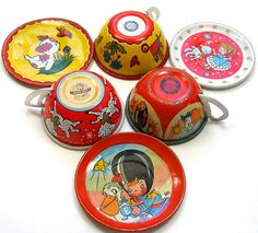 tin toy cups