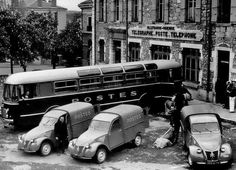 Citroën 2CV Fourgonnette Type AZUs working hard for La Poste (the French postal service).....