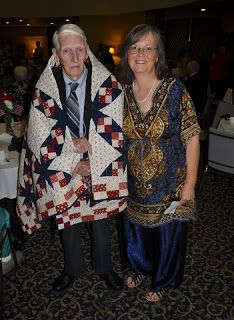 Quilts of Valor: Currahee Military Weekend Banquet