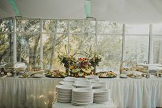 Dinner Buffet captured by Wild Whim Photography.