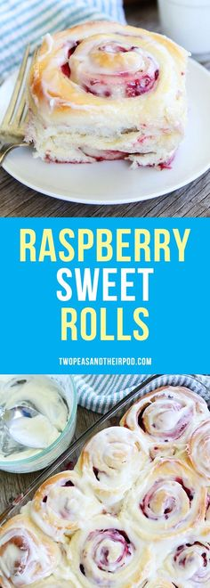 Raspberry Sweet Rolls are the perfect breakfast or brunch treat for the holidays. Raspberry Sweet Rolls are the perfect breakfast or brunch treat for the holidays or any day! Breakfast Dishes, Breakfast Recipes, Dessert Recipes, Breakfast Healthy, Breakfast Dessert, Breakfast Casserole, Breakfast Ideas, Just Desserts, Delicious Desserts