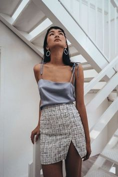 Just went from Palm Springs (116 degrees) to L.A. (92 degrees) to NYC (90 degrees). This is what I should have packed instead of a suede skirt. Hunter The Label Miranda Silk Camisole, $145.91, available at Hunter the Label. #refinery29 http://www.refinery29.com/hot-weather-clothing#slide-8