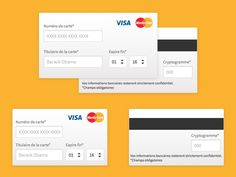Credit Cards Form