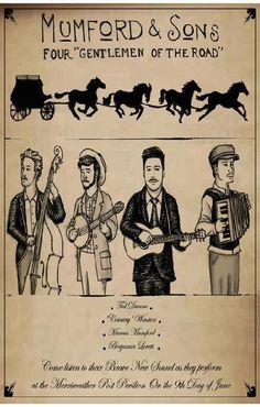 Mumford & Sons music gig posters | ... Music Posters - Memorabilia, Concert Poster, Silkscreen, Poster Art