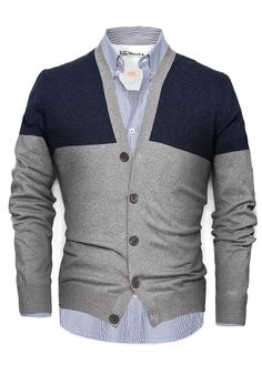 HEbyMango - NEW - CASHMERE COTTON-BLEND CARDIGAN