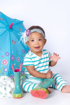 """""""Spring Smiles"""" Portrait Creations Baby Photographer in Charlotte, NC."""