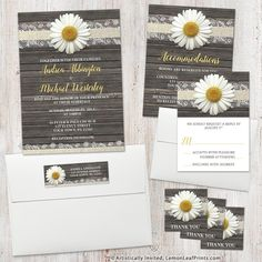 Rustic white daisy, wood, and burlap lace wedding invitation set. Perfect for a country or rustic wedding in the spring, summer, or fall.   Design by @artisticallyinvited.   Shop for it here: http://lemonleafprints.com/wedding-invitations-daisy-burlap-and-lace-wood.html  #weddings #weddinginvitations #weddinginvitation #weddinginvites #weddinginvite #wedding #springwedding #fallwedding #summerwedding #invitations #invitation #autumnwedding #rusticwedding #countrywedding #daisies #daisy