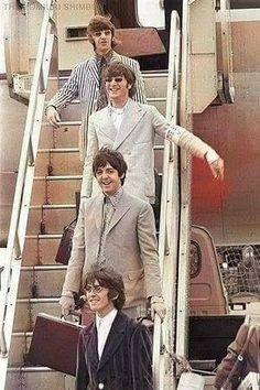 The Beatles. A George Vreeland Hill Pinterest post.