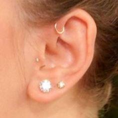 Forward helix piercing:D Gahh!! I can't wait till I get this pierced! Please be soon!(:
