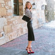 Today on Ivory Lane... Excited to start sharing my favorite finds from the holidays.  http://www.theivorylane.com/2014/01/stripes-leather.html