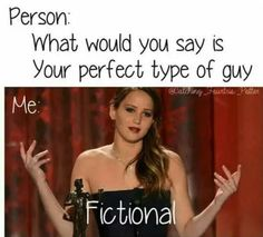 We can't help but fall in love with fictional men!