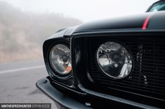 The Black Death: In A Fastback - Speedhunters Ford Mustang 1968, 1968 Ford Mustang Fastback, Mustang Cars, Ford Mustangs, Old School Cars, Black Death, Best Muscle Cars, Cool Cars, Dream Cars