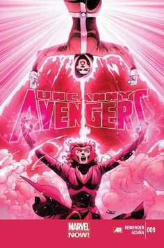 Uncanny Avengers #9  Ragnarök Now continues! A team divided. The Apocalypse Twins triumphant. Wolverine discovers The Midnight City and soon wishes he hadn't. The Horsemen of Death shatter the Avengers body and soul!
