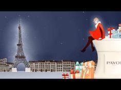 PAYOT 2014 - carte de voeux - Illustration by Diane Dufour aka Tagadiane - Animation par Clement Ciuro #Payot #Paris #Noël