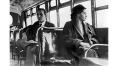 ❖ December 1, 1955 ❖ In Montgomery, Alabama, Rosa Parks is jailed for refusing to give up her seat on a public bus to a white man, a violation of the city's racial segregation laws. The successful Montgomery Bus Boycott, organized by a young Baptist minister named Martin Luther King, Jr., followed Park's historic act of civil disobedience.