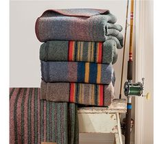Camp blankets by Pendleton Made in the USA Camp blankets by Pendleton Made in the USA The post Camp blankets by Pendleton Made in the USA appeared first on Wool Diy. Diy Throw Blankets, Camping Bedroom, Pendleton Wool Blanket, Camping In Ohio, Vintage Blanket, Camping Blanket, Camping Supplies, Camping Ideas, Vintage Wool