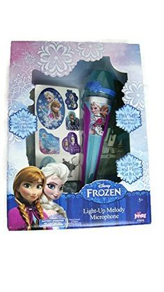 Kids' Karaoke Machine Accessories - Disney Frozen LightUp Melody Microphone -- You can find out more details at the link of the image.