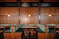 Hanging Chair From Ceiling Speakeasy Restaurant, Restaurant Booth Seating, Restaurant Design, Hotel Buffet, Walnut Timber, Nick And Nora, Bar Design Awards, Gym Decor, Cool Cafe