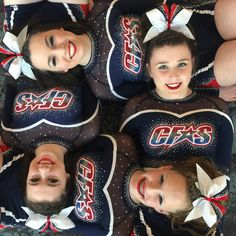 CFAS - Cheer Factor All Stars  Cheer pic. My daughter and three friends