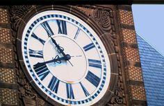 CNJ Terminal Clock