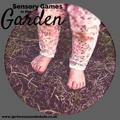 3 Sensory Games For The Garden This Winter.