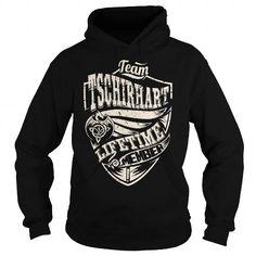 Awesome Tee Team TSCHIRHART Lifetime Member (Dragon) - Last Name, Surname T-Shirt T shirts
