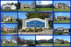 Country Creek community  Lebanon Ohio 45036, a mature neighborhood on the north side of Lebanon that could be your next home!  Just click through for more information and to search for Country Creek homes for sale!