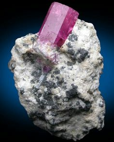 Red Beryl (Bixbite) from WahWah Mountains in Utah - only location found