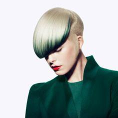 Vidal Sassoon Minimum Collection Medium Short Hair, Short Hair Cuts, Medium Hair Styles, Natural Hair Styles, Short Hair Styles, Crazy Colour, Cut And Color, Creative Hairstyles, Messy Hairstyles