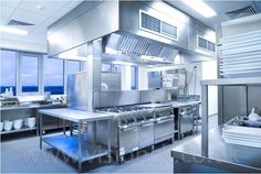 Commercial kitchen equipment/ commercial kitchen design: supplied and installed by Vision Commercial Kitchens