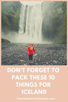 I'm always worried I'll forget the basics when packing for a trip. But what about the special items that are unique for each destination? Here's a list of 10 things you should definitely pack to Iceland! Iceland Travel Tips, Packing Tips For Travel, Travel Guides, Packing Lists, Packing Hacks, Whale Watching Tours, Old Faithful, Summer Activities, Travel Pictures