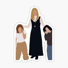 Tv: Friends, Friends Cast, Friends Episodes, Friends Moments, Friends Tv Show, Friends Sketch, Drawings Of Friends, Tumblr Stickers, Cute Stickers