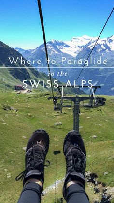 Best place in the world to paraglide : Verbier, Switzerland in the summertime…