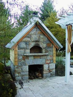 My pizza oven in CT
