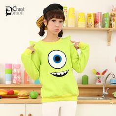 Cute ladies fashion on Demon's Chest.Harajuku Ladies Trendy Cute Cartoon Print Cotton Fleece T-shirt with Ears make you more charming in the date.    ---Item No : #DC00148  ---Fabric : Cotton  ---Popular Element : Print , Cartoon  ---Weight : 14.6oz  ---http://demonchest.storenvy.com