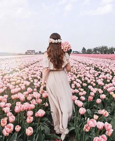 Likes, 159 Comments - Jana Baby Pink Aesthetic, Flower Aesthetic, Girly Pictures, Beautiful Pictures, Fantasy Magic, Germany Fashion, Tulip Fields, Girl Photography, Beautiful Flowers