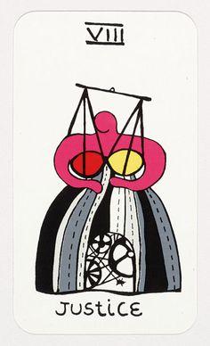 Niki de Saint Phalle tarot cards - Digital Collections - UW-Madison Libraries