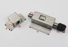 Promotional Stainless Steel Automatic spring bolt by bomb aircraft door insert furniture cabinets doors latch-in Furniture Bolts from Home Improvement on Aliexpress.com | Alibaba Group