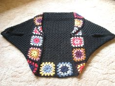 granny square shrug
