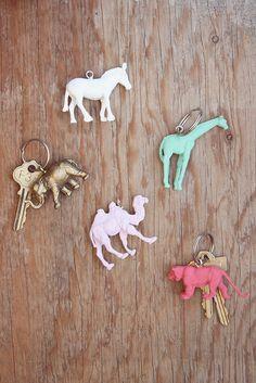 Super Cute DIY Animal Key Chains
