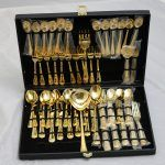 Fantastic Enchanted Rose patterned flatware by William Rogers & Son.  Only $89 for set as pictured.
