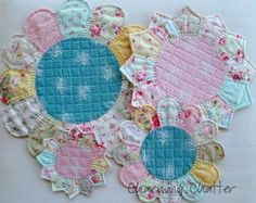 Dresden Plate and Petal Trivets - Quilting Digest