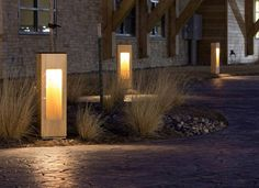 Solar Powered self contained lighting fixture for pathways, walkways, entrances. Made with Accoya wood which is virtually indestructible by insects. This is an exquisite choice for a luxury resort or home owners association.