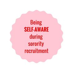 Sorority recruitment tips Sorority Recruitment Tips, Sorority Rush Week, Sorority Recruitment Outfits, Girl Truths, Finding Yourself