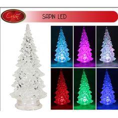 P re noel lumineux acrylique 40 led no l led et d coration - Illumination de noel pas cher ...